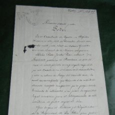 Manuscritos antiguos: PODER VENTA CASA EN MARTORELL - CONSULADO DE ESPAÑA EN PERPIGNAN 1928 - CONSUL ANTONIO GORDILLO . Lote 46716938