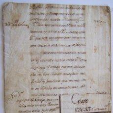 Manuscritos antiguos: MADRID 1766 * ALQUILER DE CASAS Y NUEVA ILUMINACIÓN DE FAROL EN LA CORTE * MANUSCRITO DE 24 PAGINAS. Lote 46962975