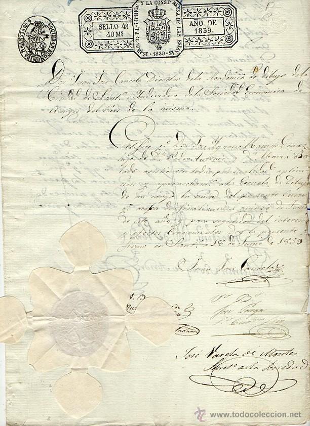 Certificado de estudios y aprovechamiento de un comprar - Estudios santiago de compostela ...