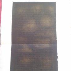 Manuscritos antiguos: FACSÍMIL (PRIMERA COLUMNA DE LAS TABLAS DE OSUNA) LÁMINA LITOGRAFIADA. 1877.. Lote 47038713