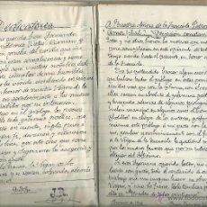 Manuscritos antiguos: MANUSCRITO INÉDITO - POESÍAS A NTRA. SRA. DE LA FUENCISLA PATRONA SEGOVIA - JUAN RIVERO VILLOSLADA. Lote 47169059