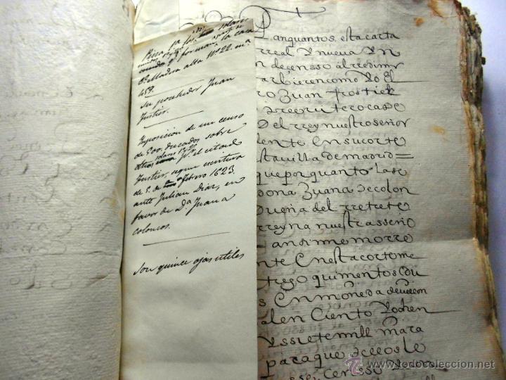 Manuscritos antiguos: MANUSCRITO VILLA MADRID S- XVI-XVIII, UNAS 60 ESCRITURAS CON 250 FOLIOS SOLAR CALLE MADERA ALTA---- - Foto 16 - 47798296