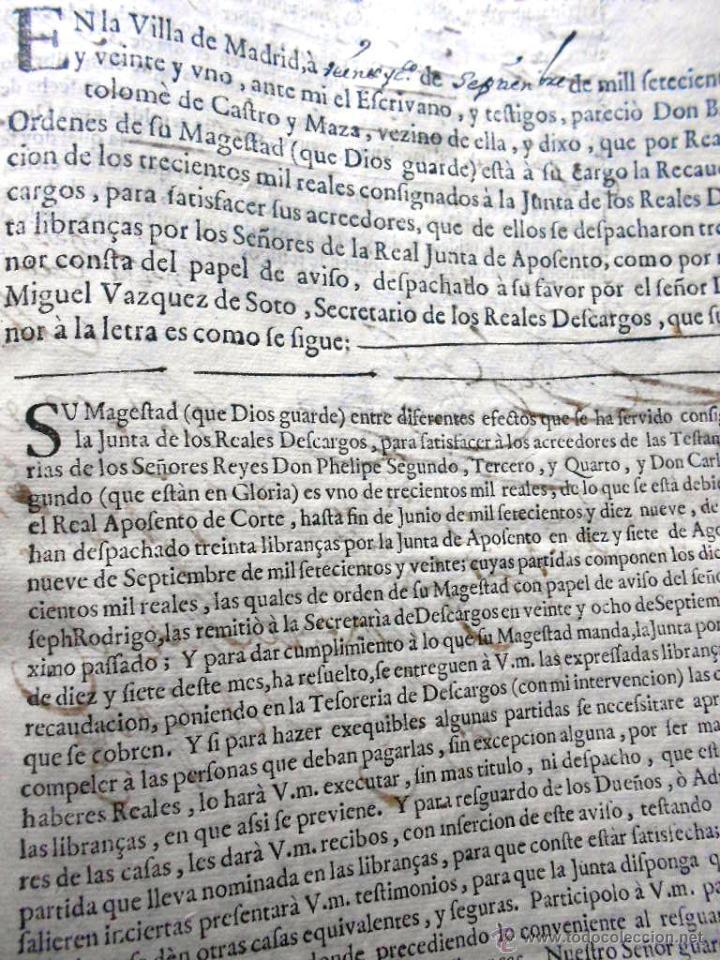 Manuscritos antiguos: MANUSCRITO VILLA MADRID S- XVI-XVIII, UNAS 60 ESCRITURAS CON 250 FOLIOS SOLAR CALLE MADERA ALTA---- - Foto 21 - 47798296