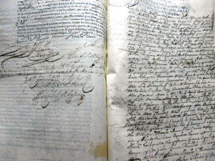 Manuscritos antiguos: MANUSCRITO VILLA MADRID S- XVI-XVIII, UNAS 60 ESCRITURAS CON 250 FOLIOS SOLAR CALLE MADERA ALTA---- - Foto 22 - 47798296