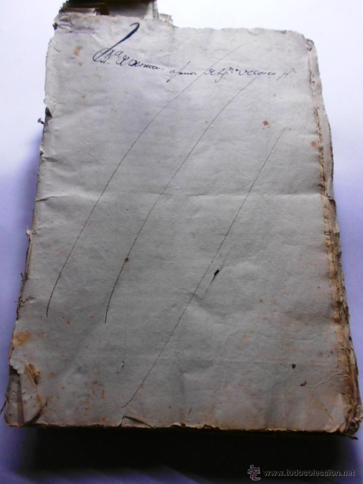 Manuscritos antiguos: MANUSCRITO VILLA MADRID S- XVI-XVIII, UNAS 60 ESCRITURAS CON 250 FOLIOS SOLAR CALLE MADERA ALTA---- - Foto 23 - 47798296