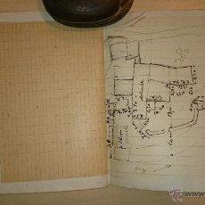 Manuscritos antiguos: MANUSCRITO - ZARAGOZA - RIO GÁLLEGO - NIVELACION POR EL RIO DESDE EL MOLINAZ AL PUENTE DE ARDISA. Lote 47866682