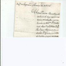 Manuscritos antiguos: MANUSCRITO - INQUISICION DE LOGROÑO 1795 - ALGUACIL MAYOR DEL SANTO OFICIO. Lote 47896338