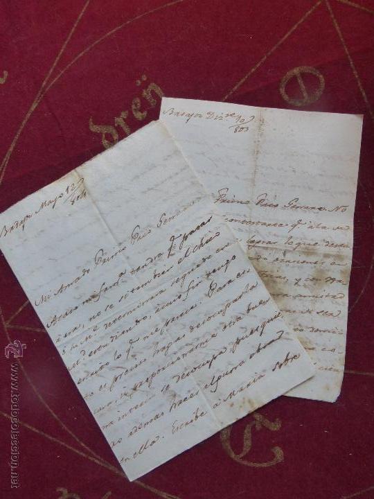 Cartas Circuladas En Los Años 1803 Y 1804 Sobre Sold Through
