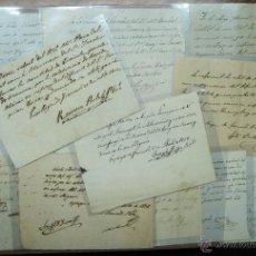 Manuscritos antiguos: L'ESPLUGA DE FRANCOLI (TARRAGONA). CONJUNTO DE 12 DOCUMENTOS MANUSCRITOS DEL SIGLO XIX. LOTE 001. Lote 49172090