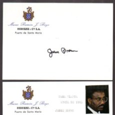 Manuscritos antiguos: SIGNED, AUTOGRAPH. JESSE BROWN, SECRETARÍA DE ESTADO UNIDOS. ASUNTOS VETERANOS, 1993-1997. LEER. Lote 49595675