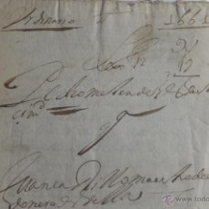 Manuscritos antiguos: MANUSCRITO JUDICIAL DEUDA P MELENDEZ CONTRA J CARRILLO, MAESTRO CORDONERO GRANADA 1661 SELLOS FISCAL. Lote 49970004