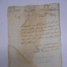 Manuscritos antiguos: MANUSCRITO (ZAMORA) 1629 CONDESA DE FUENTESAUCO ALDONZA DE DEZA.REDENCION DE 500 MIL MARAVEDIES. Lote 50205956