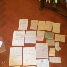 Manuscritos antiguos: ANTIGUA DOCUMENTACIÓN DE UNA FAMILIA DE ARTÉS DE FINALES DE 1800 Y PRINCIPIOS DE 1900. Lote 50362755