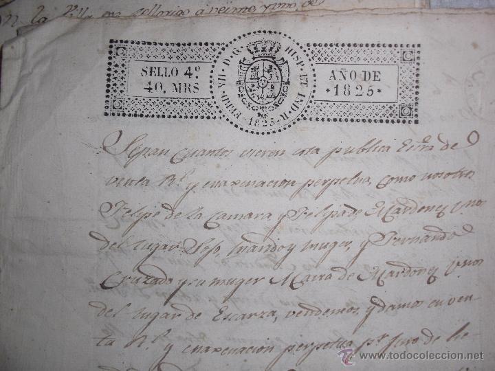 Manuscritos antiguos: DOCUMENTOS ANTIGUOS BURGOS,PAÍS VASCO,LA RIOJA DESDE SIGLO XVII - Foto 9 - 50742469