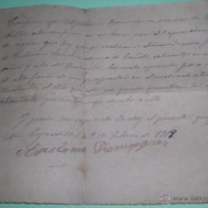 Manuscritos antiguos: CONTRATO APROVECHAMIENTO DE AGUAS TEJADILLOS 1919. Lote 50802341