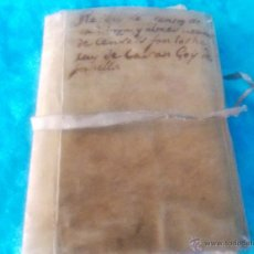 Manuscritos antiguos: MANUSCRIT ORIGINAL CENSALS, CASTELLO D'AMPURIES, CASSA DE LA SELVA, FORNELLS XIX. Lote 50994189