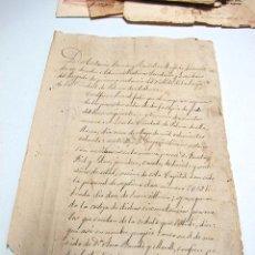 Manuscritos antiguos: ACTAS NOTARIALES 1887 (PALMA DE MALLORCA. Lote 51936133