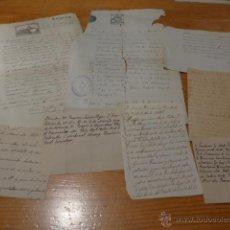 Manuscritos antiguos: GRAN LOTE DE DOCUMENTO MANUSCRITO DE S.XVIII - XIX, ORIGINALES, ZONA CATALUNYA. Lote 52359480