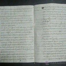 Manuscritos antiguos: INSTRUCCION QUE HAN DE SEGUIR LOS EMBAJADORES DE ESPAÑA EN LA CORTE ROMANA MANUSCRITO DEL SIGLO XVII. Lote 52674753