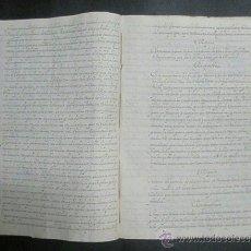 Manuscritos antiguos: CORRUPCION SOBRE UN DINERO QUE D.PATRICIO MOLEDI TUVO A SU CARGO EN LA NEGOCIACION CON INGLATERRA. Lote 52708073