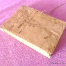 Manuscritos antiguos: MANUSCRITO ORIGINAL, MANUEL SALA Y PRATS PROCURADOR, VILAFRANCA DEL PENEDES 1830. Lote 52708872