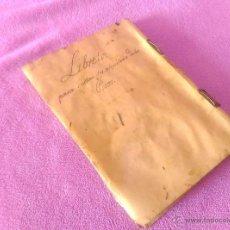 Manuscritos antiguos: LIBRETA MANUSCRITA ORIGINAL DE ALQUILERES DE PISOS Y CASAS EN BARCELONA 1815-1855. Lote 52725946