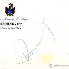 Manuscritos antiguos: SIGNED,AUTOGRAPH,FIRMA,FIRMA DE JOAN BLANCH Y RODRIGUEZ,ALCALDE DE BADALONA.VER GOOGLE.. Lote 52782466