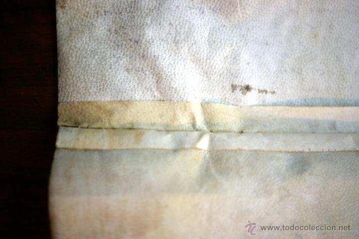 Manuscritos antiguos: ENORME MANUSCRITO EN PERGAMINO - INUSUAL POR TAMAÑO - AÑO 1650 - S. XVII - RARO - Foto 25 - 53016993