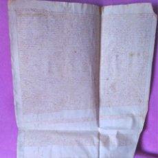 Manuscritos antiguos: SANT CELONI, ACTE CENSAL DE LA CASA SALLES, BARTHOMEU PONS, PERE PONS, FILL1577. Lote 53218368