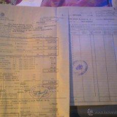 Manuscritos antiguos: INSTITUTO NACIONAL DE PREVISION -. Lote 53358001