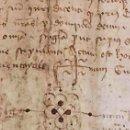 Manuscritos antiguos: ANTIGUA ESCRITURA DE PERGAMINO AÑO 1.421- IGUALADA BARCELONA. Lote 49292653