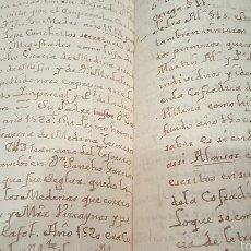 Manuscritos antiguos: DOCUMENTO S. XVIII , IGLESIA, MONJAS.. MURCIA, VILLENA... CONVENTO DE ALMANSA.10PAGINAS. Lote 153971920