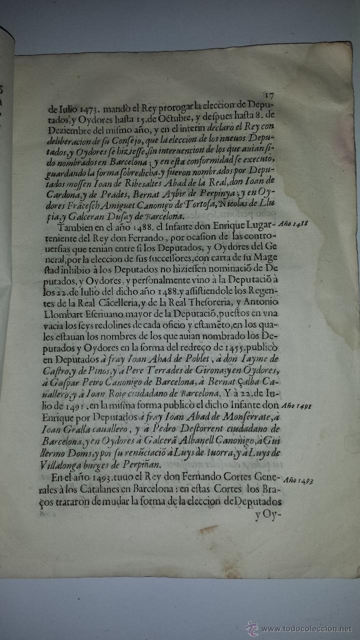 Manuscritos antiguos: Discvrso en el qval se ivstifica EPC Los Bracos ivntados en es solos, sin el rey, sin pveden proueer - Foto 4 - 37022175