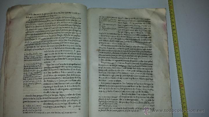 Manuscritos antiguos: Discvrso en el qval se ivstifica EPC Los Bracos ivntados en es solos, sin el rey, sin pveden proueer - Foto 5 - 37022175