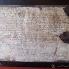 Manuscritos antiguos: MANUSCRITO SIGLO XIV AÑO 1378. Lote 53620308