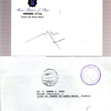 Manuscritos antiguos: SIGNED,AUTOGRAPH,FIRMA,TARJETA FIRMADA POR FERNANDO ALMANSA.VISCONDE DELCASTILLO DE ALMANSA.. Lote 53718369