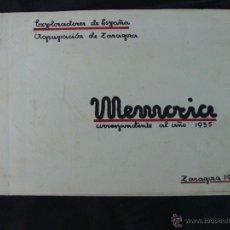 Manuscritos antiguos: EXPLORADORES DE ESPAÑA. AGRUPACIÓN ZARAGOZA. MEMORIA 1935. MECANOGRAFIADA, 1 ENERO 1936. Lote 54035314