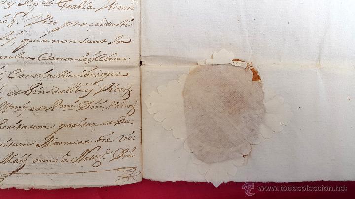 Manuscritos antiguos: RAJADELL - 1778 - EXTINCIÓ DUN CENS - 8 PÀGINES - SEGELL EN SEC - Foto 5 - 54047315