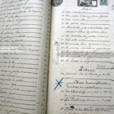 Manuscritos antiguos: ENRIQUE GRANADOS - JOSÉ FELIU Y CODINA - IMPORTANTE - CONTRATO OPERA MARIA DEL CARMEN. Lote 54049586