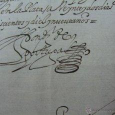 Manuscritos antiguos: 1619. NOMBRAMIENTO FIEL EXECUTOR DE LA VILLA DE POTOSÍ. FIRMADO DIEGO DE PORTUGAL. AMÉRICA, MINAS. Lote 54062767