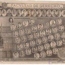 Manuscritos antiguos: 1945-67 LOTE FOTO DERECHO SALAMANCA, CERTIFICADO LICENCIADO BELORADO, DIPLOMA ACADEMIA JOSE ANTONIO. Lote 54183535