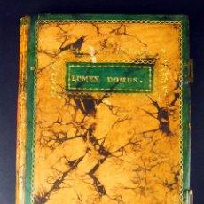 Manuscritos antiguos: LUMEN DOMUS. TRANSCRIPCIÓN DE DOCUMENTOS FAMILIA MARQUES. LA SEU URGELL. XIX. Lote 53312965