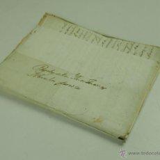 Manuscritos antiguos: DO-036. EPISTOLARIO Y CUENTAS DE JUANA CASSANY. PAPEL MANUSCRITO. ESPAÑA. CIRCA 1796.. Lote 51558477