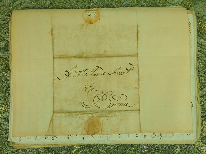 DO-052. DOCUMENTACIÓN DIVERSA DE JOAN AMAT. MANUSCRITOS SOBRE PAPEL. ESPAÑA. CIRCA 1820. (Coleccionismo - Documentos - Manuscritos)