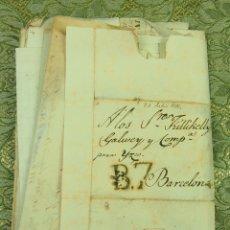 Manuscritos antiguos: DO-048. DOCUMENTACIÓN. RECIBOS Y PAGOS DIVERSOS. FAMILIA SEGUÍ. BARCELONA CIRCA 1816.. Lote 51929871