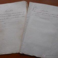 Manuscritos antiguos: GRANADA, LA ROMILLA, TORRE DE ROMA, FARGUE, CUENTAS DEL CONDE DE CASA VALENCIA, 1882, 1889. Lote 54912508