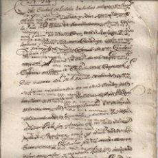 Manuscritos antiguos - 1736 - TUDELA NAVARRA - TESTAMENTO DEL CANÓNIGO D. RODRIGO DE RADA BOLIVAR Y BIDES - 55128235