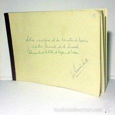 Manuscritos antiguos: MANUSCRITO : MINISTROS DE MARINA Y CAPITANES GRAL.DE LA ARMADA, ALMIRANTES DE CASTILLA, DE ARAGÓN, D. Lote 55403559