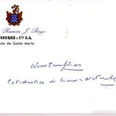Alte Manuskripte - SIGNED,AUTOGRAPH,FIRMA,ANTONIO TORRALBA MARTINEZ, INTELECTUAL ESPAÑOL.VER GOOGLE. - 55750106
