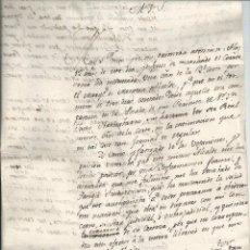 Manuscritos antiguos: 1803 - TUDELA - RENCILLAS ENTRE EL MARQUÉS DE MONTESA Y D. JOSÉ DE RADA Y GENOVÉS - CURIOSO. Lote 56024506